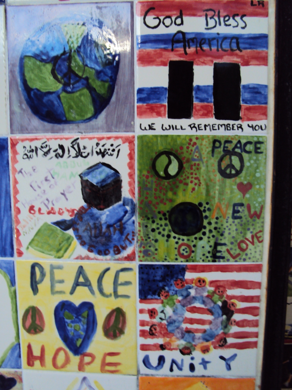 Wall of Peace Tiles